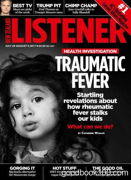 New Zealand Listener – July 29 – August 4, 2017