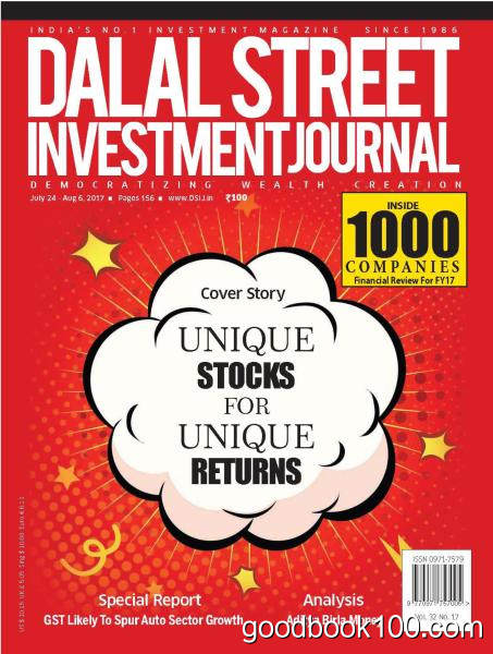 Dalal Street Investment Journal – July 24 – August 6, 2017