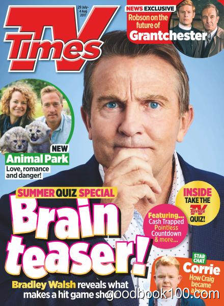 TV Times – 29 July – 4 August 2017