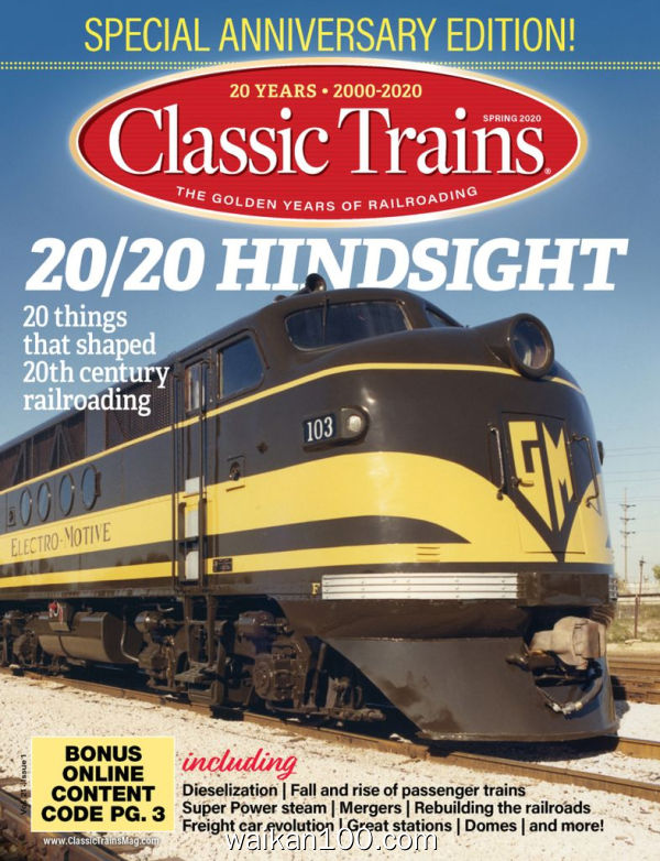 Classic Trains 2月刊 2020年 [110MB]