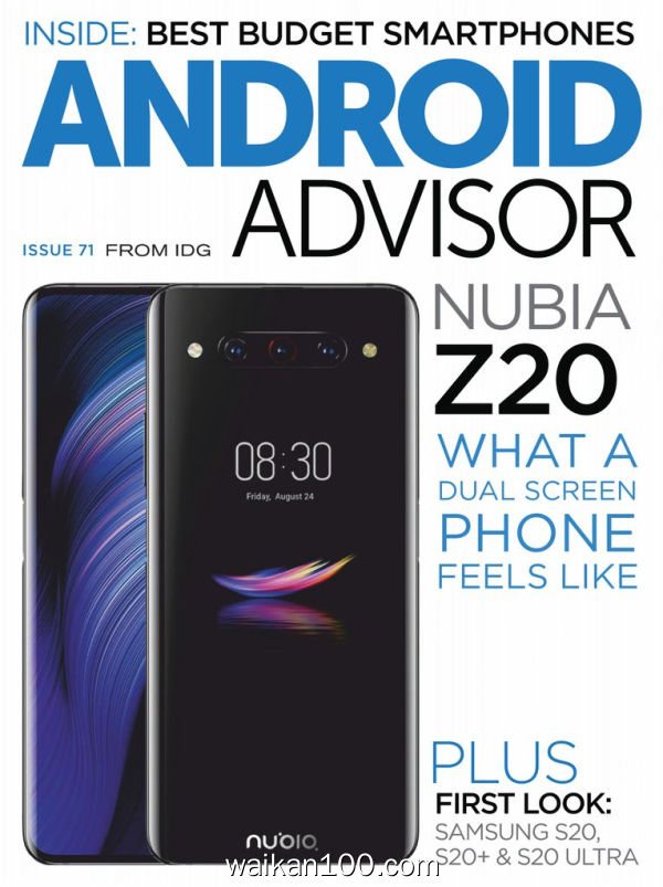 Android Advisor 2月刊 2020年高清PDF电子杂志外刊期刊下载英文原版