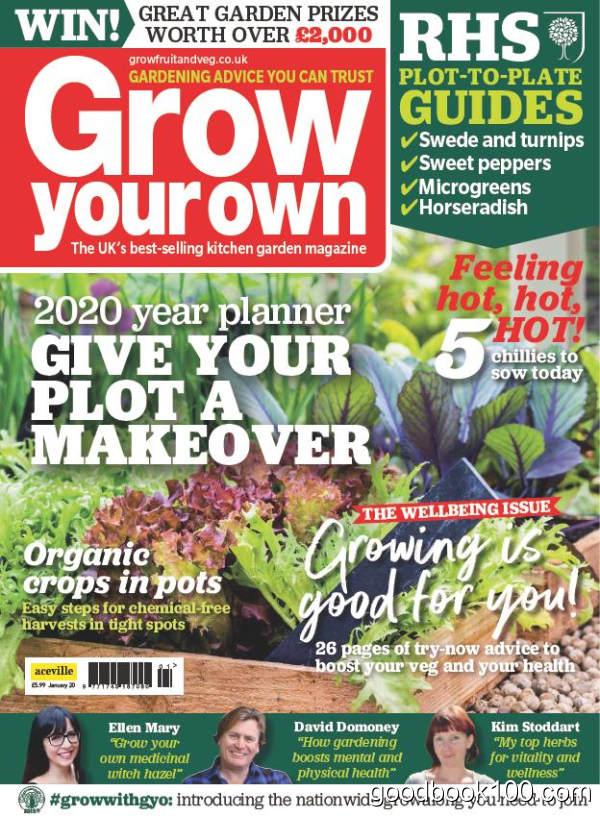 Grow Your Own_2020年合集高清PDF杂志电子版百度盘下载 共12本 665MB