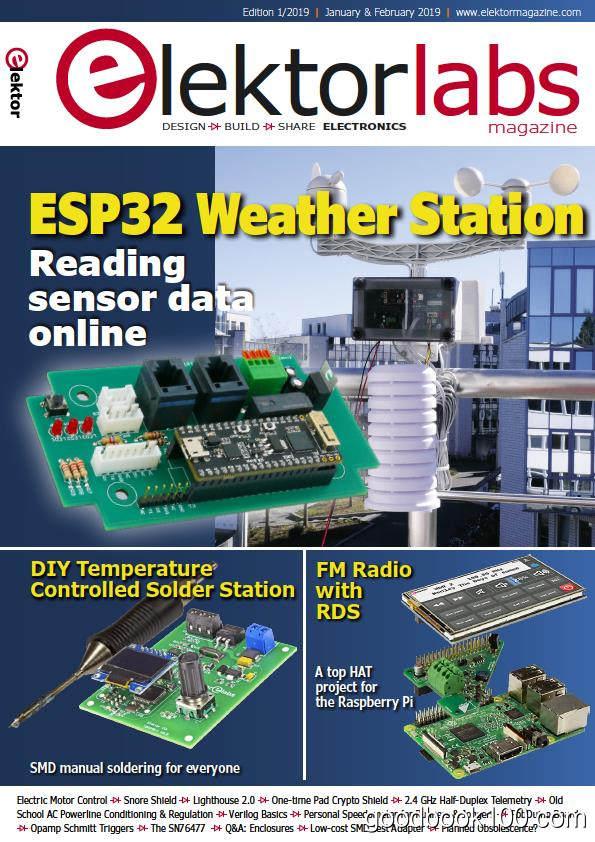 Elektorlabs USA_2019年合集高清PDF杂志电子版百度盘下载 共6本 175MB