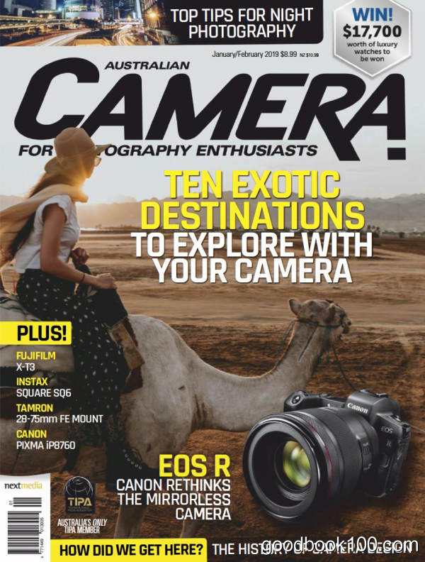 摄影杂志_Australian Camera_2019年合集高清PDF杂志电子版百度盘下载 共6本