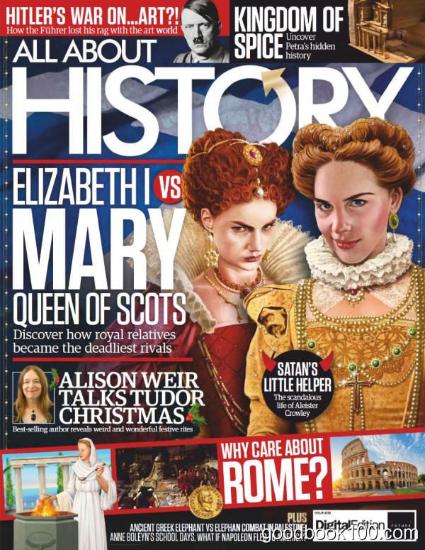 历史杂志_All About History_2018年合集高清PDF杂志电子版百度盘下载 共21本 931MB