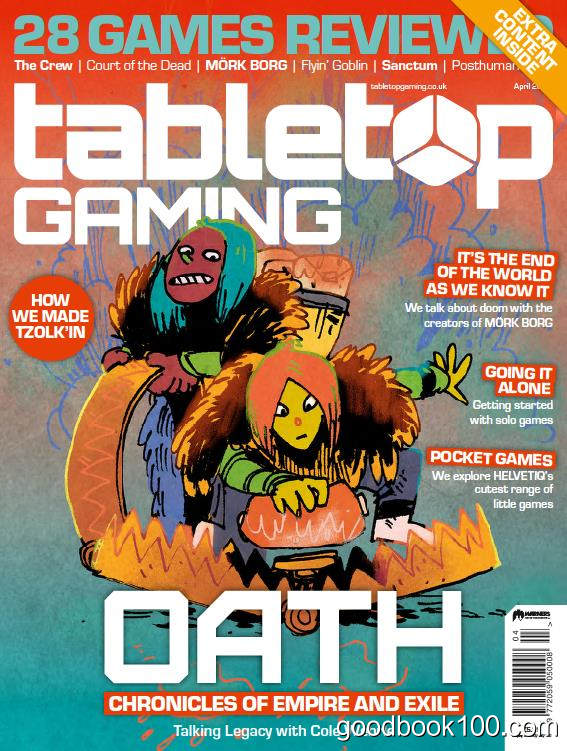 桌游杂志_Tabletop Gaming_2020年合集高清PDF杂志电子版百度盘下载 共14本 850MB
