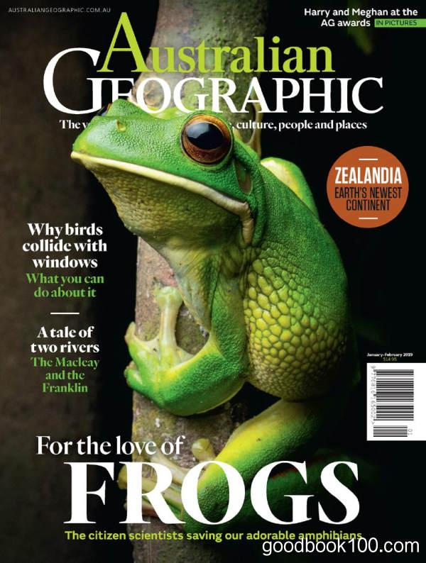 澳大利亚地理_Australian Geographic_2019年合集高清PDF杂志电子版百度盘下载 共6本 823MB