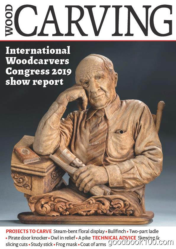 木雕木刻类杂志_Wood Carving_2020年合集高清PDF杂志电子版百度盘下载 共6本