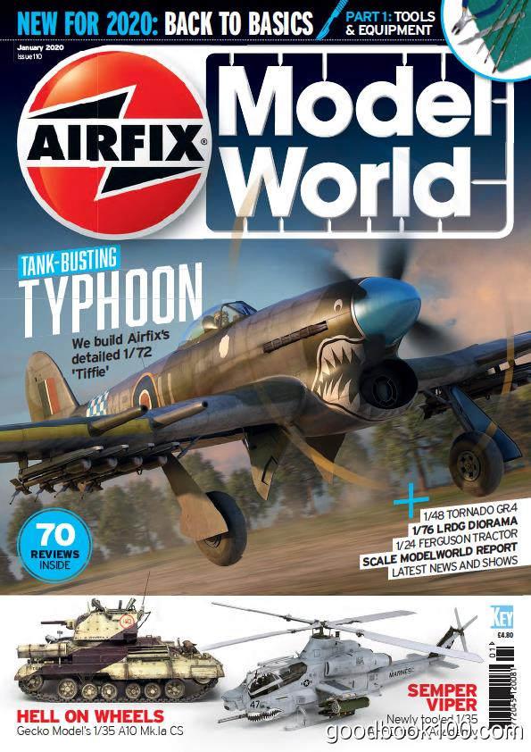 飞机模型类杂志_Airfix Model World_2020年合集高清PDF杂志电子版百度盘下载 共12本 454MB