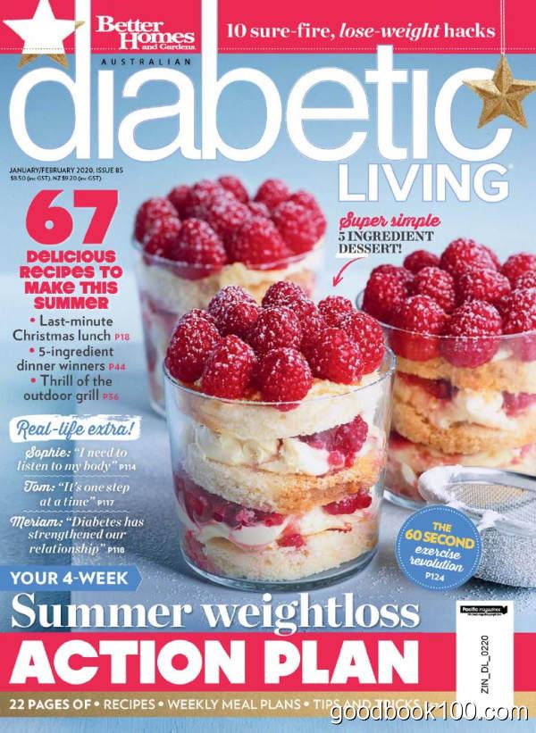 美食类杂志_Diabetic Living_2020年合集高清PDF杂志电子版百度盘下载 共6本 704MB