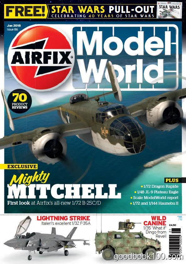 飞机模型杂志_Airfix Model World_2018年合集高清PDF杂志电子版百度盘下载 共12本 413MB