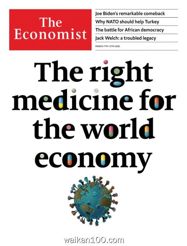 The Economist Latin America 07 3月刊 2020年 [20MB]