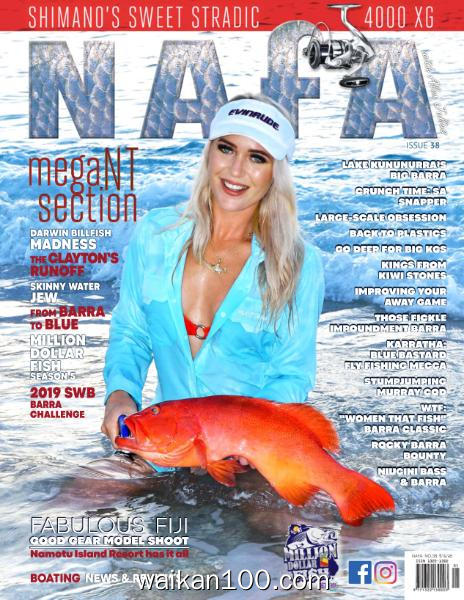 [澳大利亚版]National n Fishing Annual NAFA 总期数No.38 2月刊 2020年 [108MB]