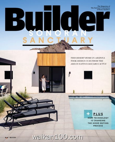 Builder 3月刊 2020年高清PDF电子杂志外刊期刊下载英文原版