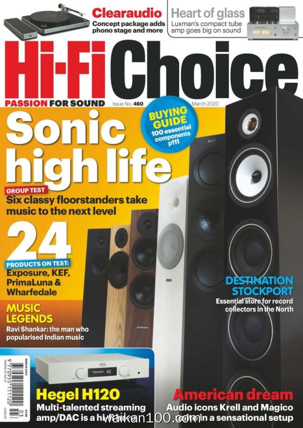 Hi Fi Choice 3月刊 2020年 [95MB]