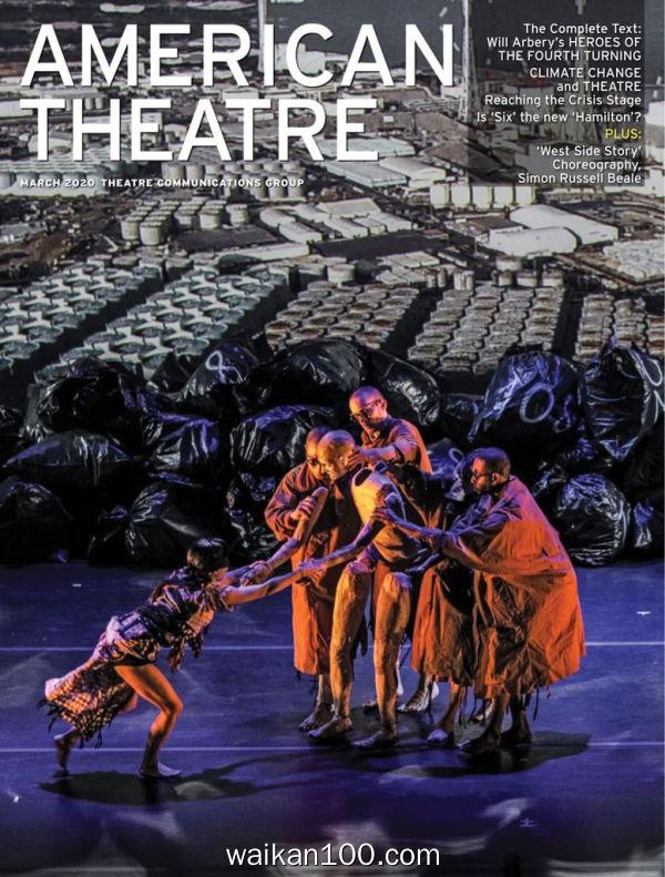 American Theatre 3月刊 2020年高清PDF电子杂志外刊期刊下载英文原版