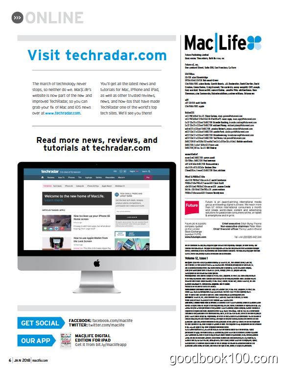 mac杂志英国版_Mac Life UK_2018年合集高清PDF杂志电子版百度盘下载 共13本