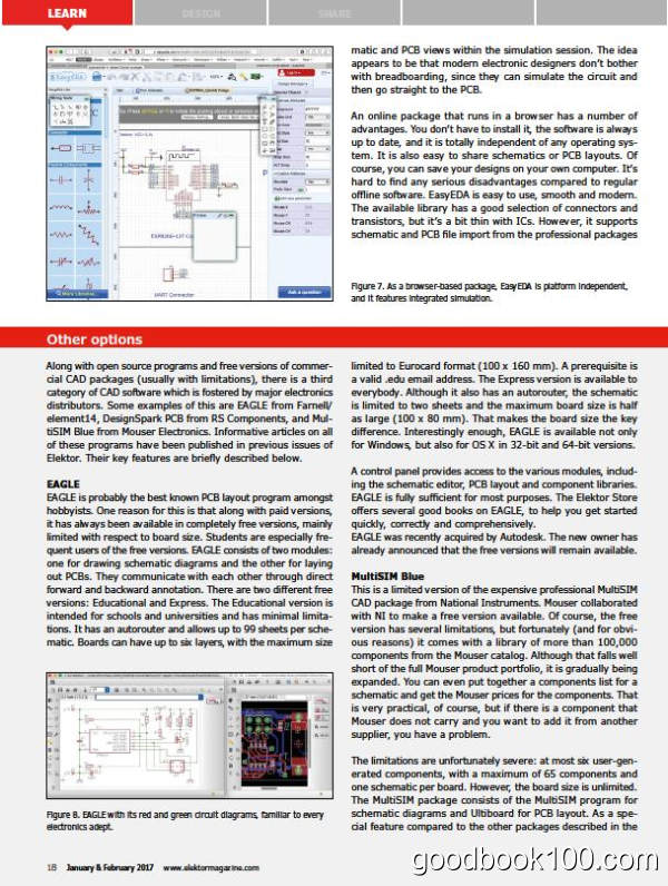 Elektor Electronics USA_2017年合集高清PDF杂志电子版百度盘下载 共6本