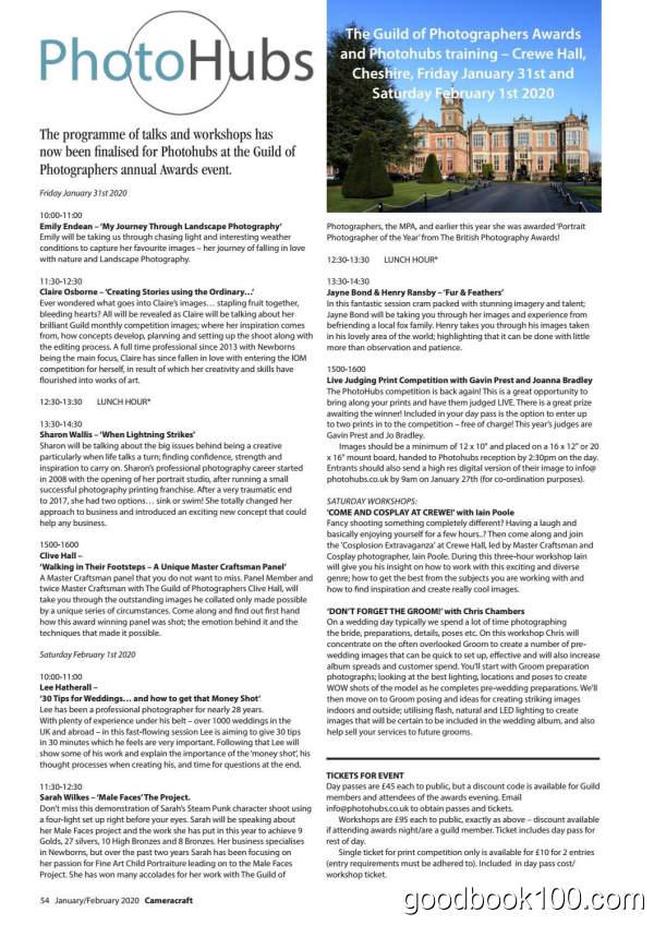 摄影杂志_CameraCraft_2020年合集高清PDF杂志电子版百度盘下载 共6本