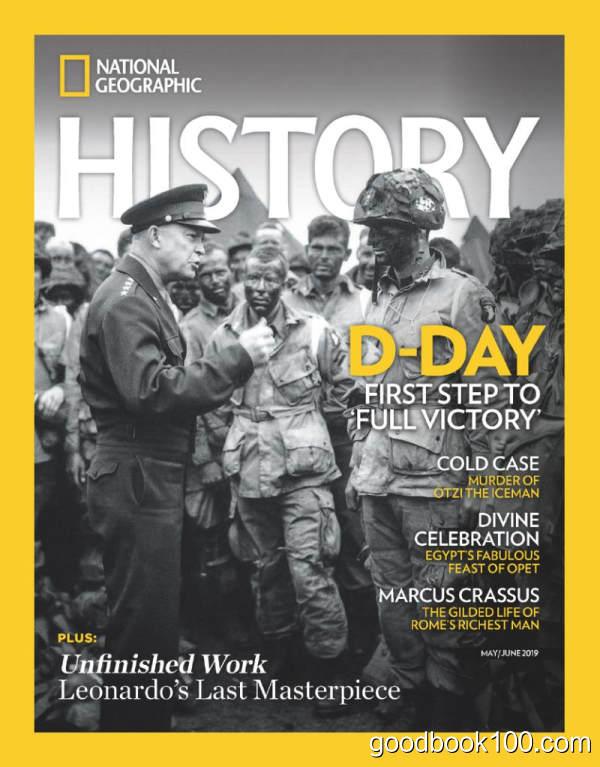 美国国家地理历史版_National Geographic History_2019年合集高清PDF杂志电子版百度盘下载 共6本 685MB