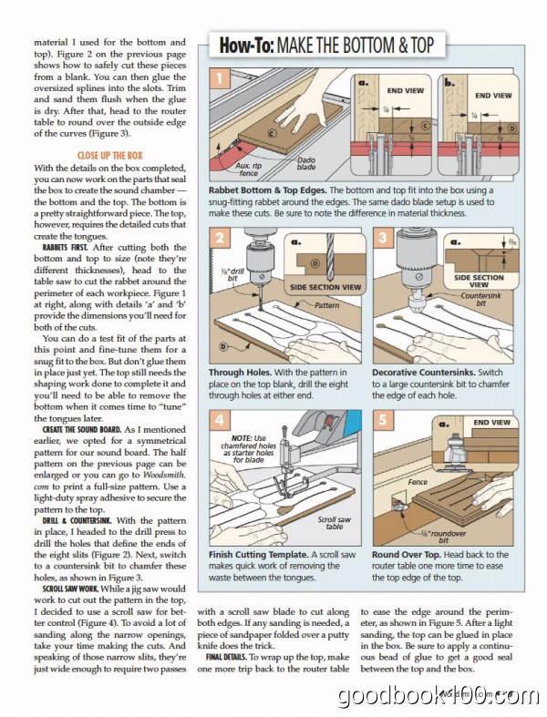 木工手工技巧类杂志_WoodSmith_2019年合集高清PDF杂志电子版百度盘下载 共6本