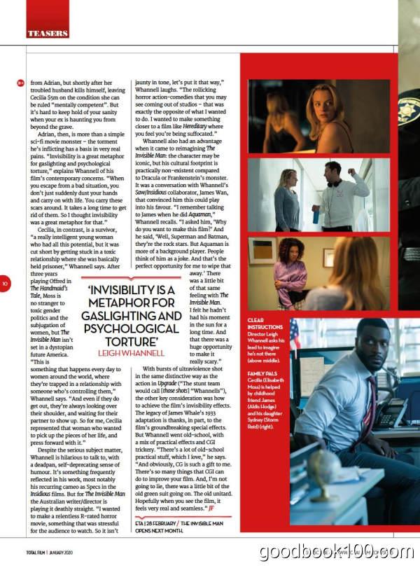 电影杂志_Total Film_2020年合集高清PDF杂志电子版百度盘下载 共11本 1.22G