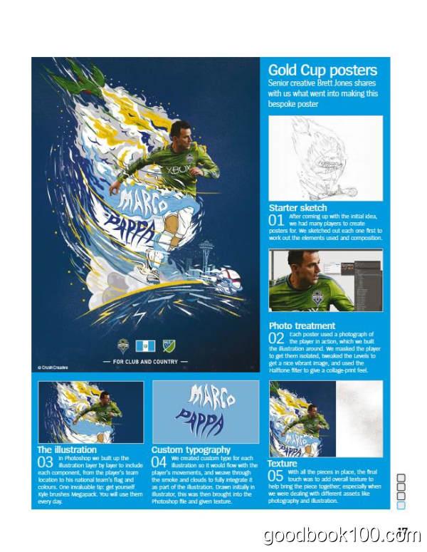 Photoshop Creative_2017年合集高清PDF杂志电子版百度盘下载 共13本 413MB