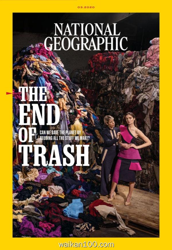 [英国版]National Geographic 3月刊 2020年 [143MB]