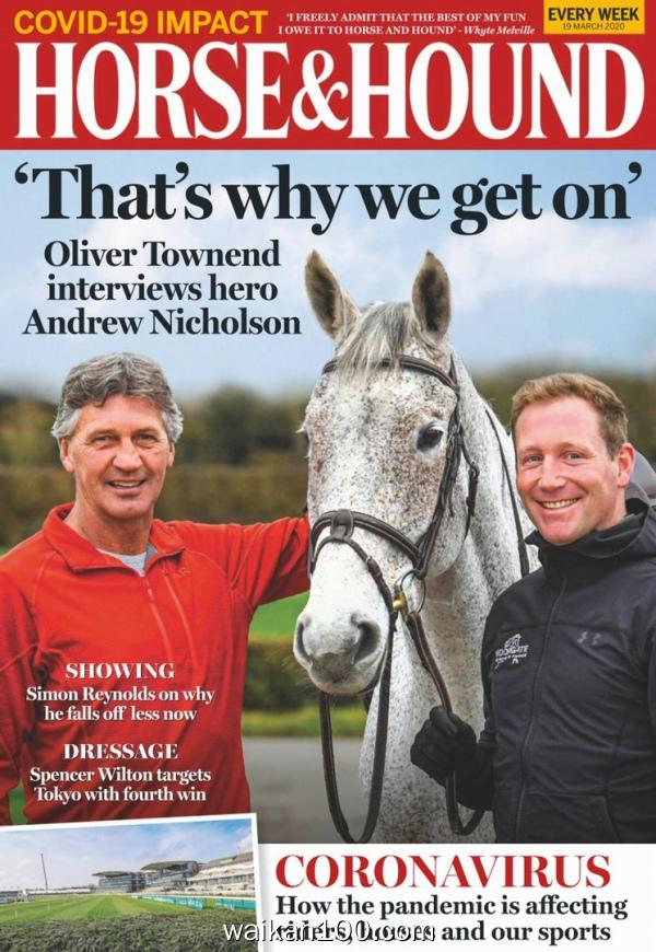 Horse&Hound 19 3月刊 2020年高清PDF电子杂志外刊期刊下载英文原版