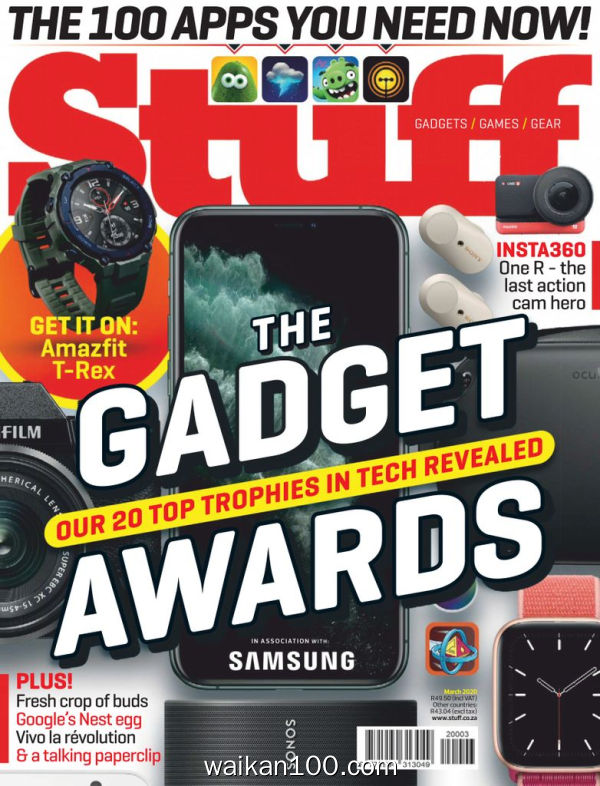 [南非版]Stuff 3月刊 2020年高清PDF电子杂志外刊期刊下载英文原版