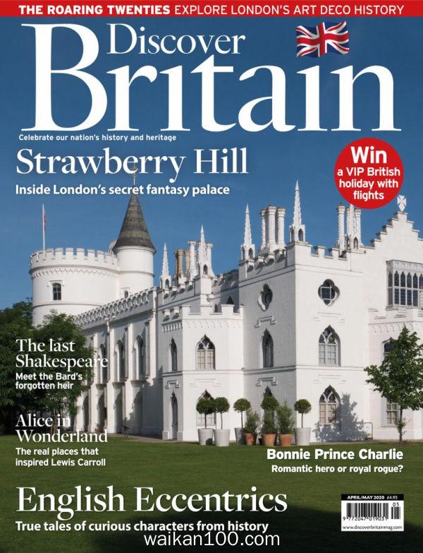 Discover Britain 4月刊 2020年高清PDF电子杂志外刊期刊下载英文原版