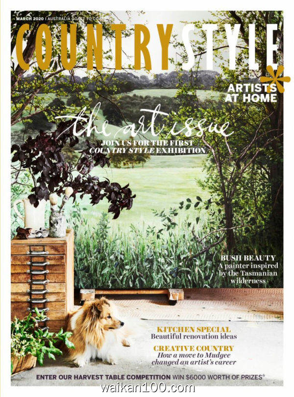 Country Style 3月刊 2020年 [103MB]