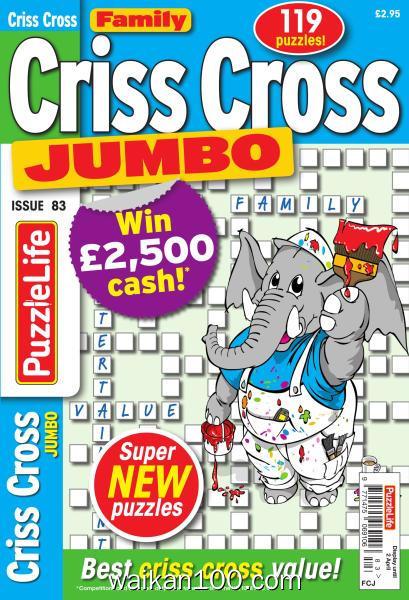 Family Criss Cross Jumbo 总期数No.83 3月刊 2020年高清PDF电子杂志外刊期刊下载英文原版