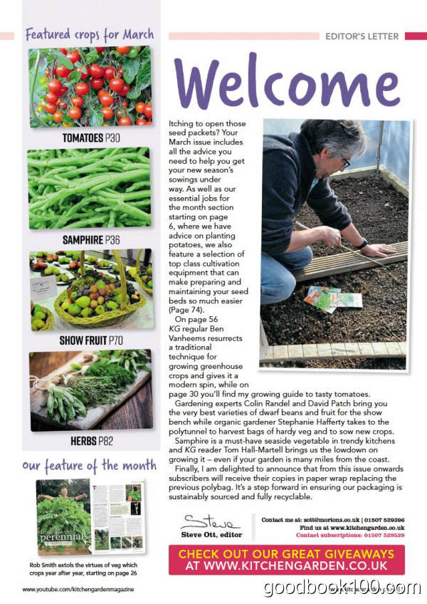 Kitchen Garden_2020年合集高清PDF杂志电子版百度盘下载 共12本 1.05G