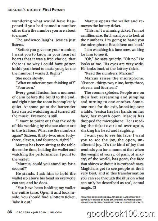 读者文摘美国版_Readers Digest_2019年合集高清PDF杂志电子版百度盘下载 共11本 412MB