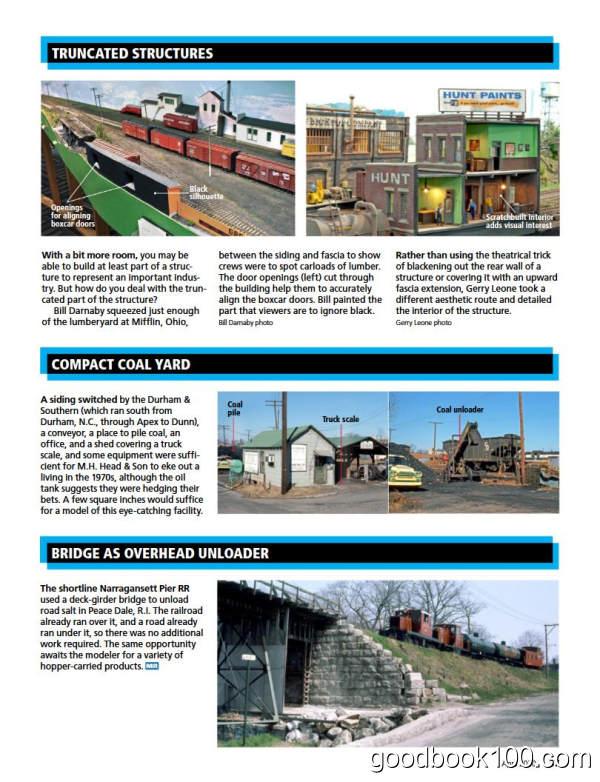 火车模型杂志_Model Railroader_2020年合集高清PDF杂志电子版百度盘下载 共12本 937MB