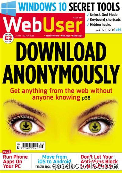 WebUser – Issue 365, 25 February – 10 March 2015