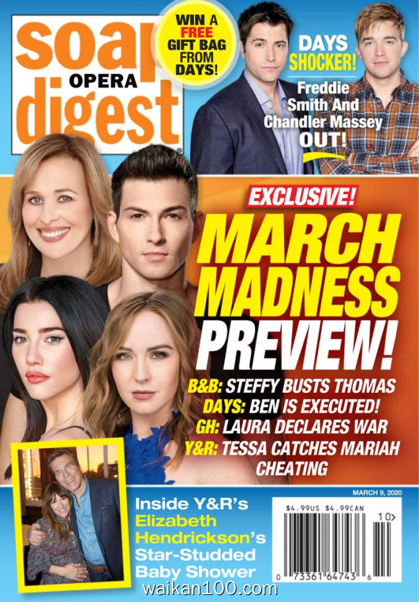 Soap Opera Digest 3月刊 09 2020年 [42MB]