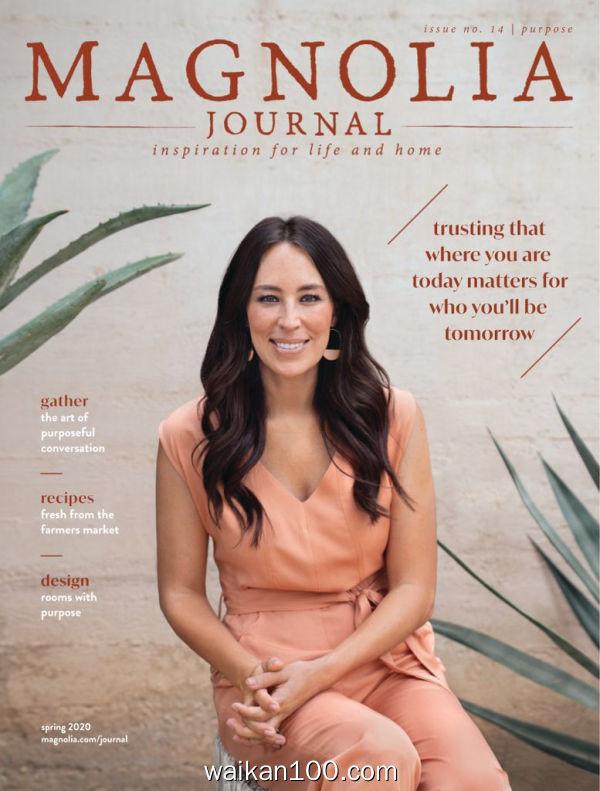 The Magnolia Journal 1月刊 2020年 [125MB]