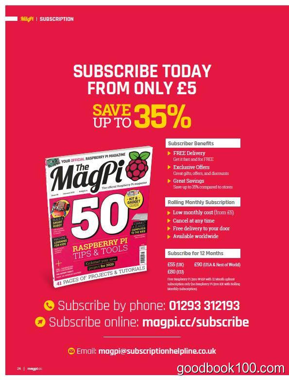 MagPi_2020年合集高清PDF杂志电子版百度盘下载 共12本