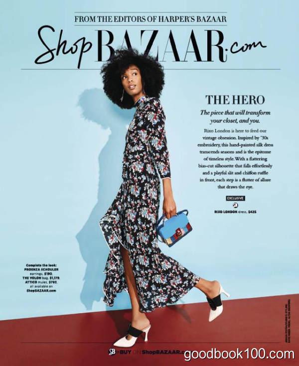 时尚芭莎美国版_Harpers Bazaar USA_2018年合集高清PDF杂志电子版百度盘下载 共10本 389MB