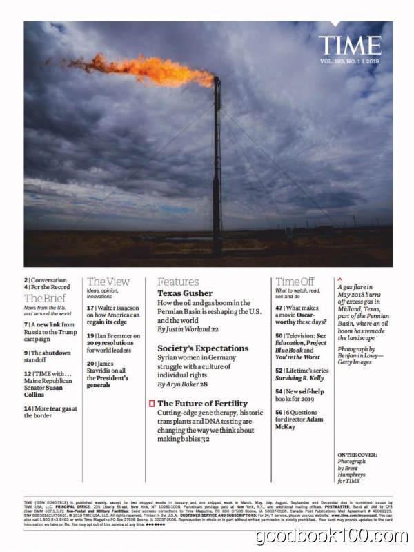 时代周刊_Time_2019年合集PDF+MOBI高清杂志电子版百度盘下载 共52本 2.2G