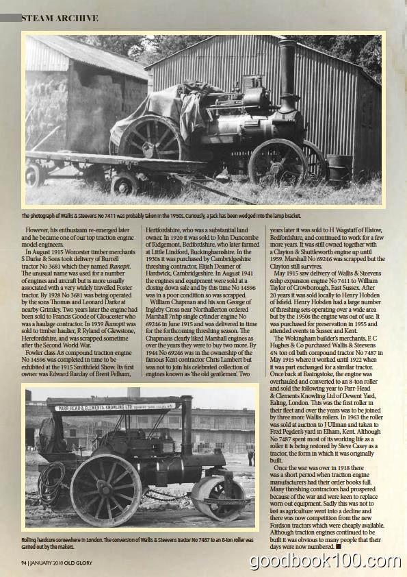 老式火车杂志_Old Glory_2018年合集高清PDF杂志电子版百度盘下载 共12本 597MB