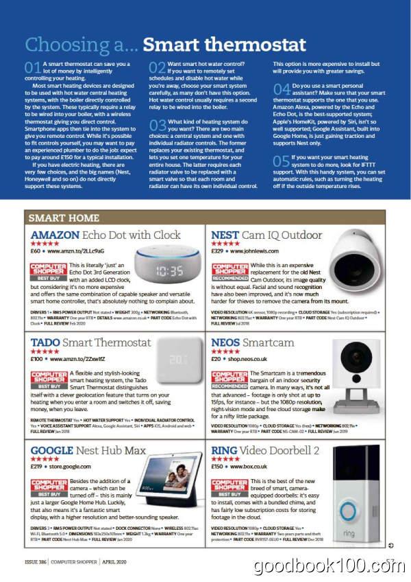 计算机硬件杂志_Computer Shopper_2020年合集高清PDF杂志电子版百度盘下载 共12本