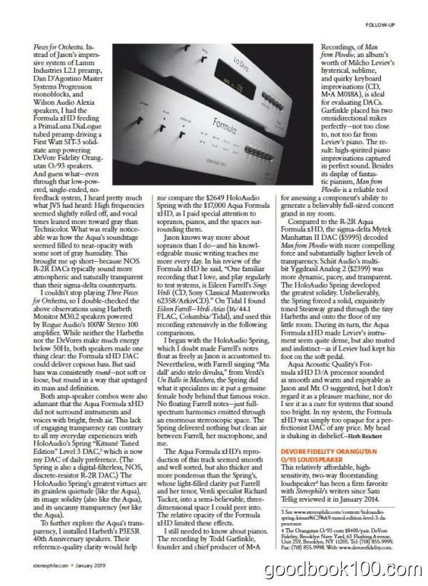 音响类杂志_Stereophile_2019年合集高清PDF杂志电子版百度盘下载 共12本 1G