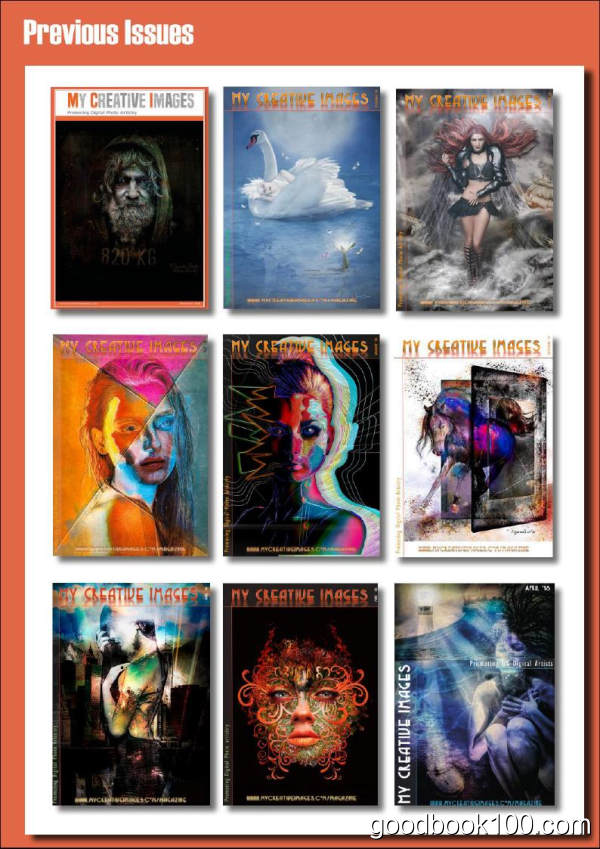 艺术插画类杂志_My Creative Images_2019年合集高清PDF杂志电子版百度盘下载 共12本