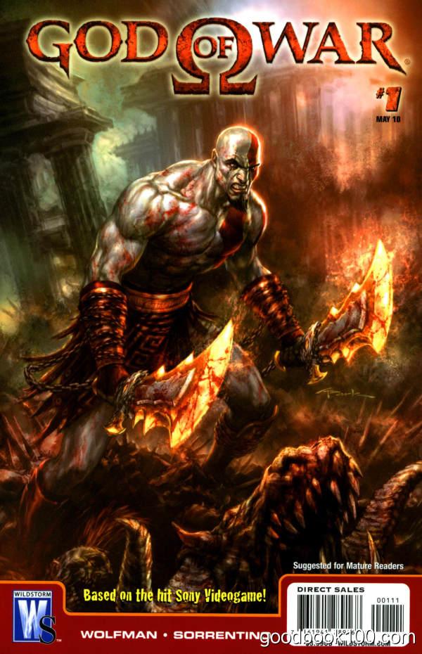 God of War #1-6 (2010-2011) (COMPLETE)