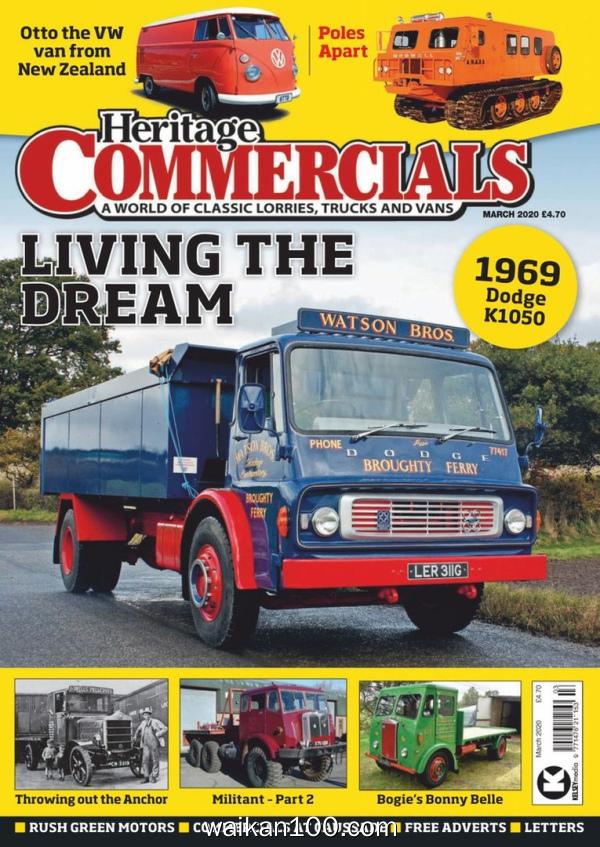 Heritage Commercials 3月刊 2020年高清PDF电子杂志外刊期刊下载英文原版