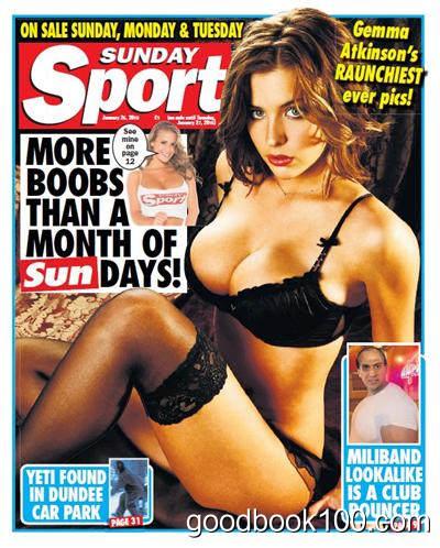 Sunday Sport – 25 January 2015
