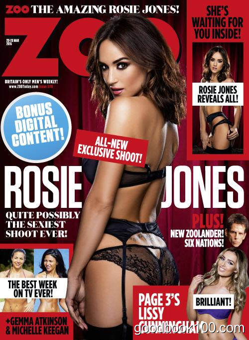 Zoo UK – Issue 570, 20-26 March 2015